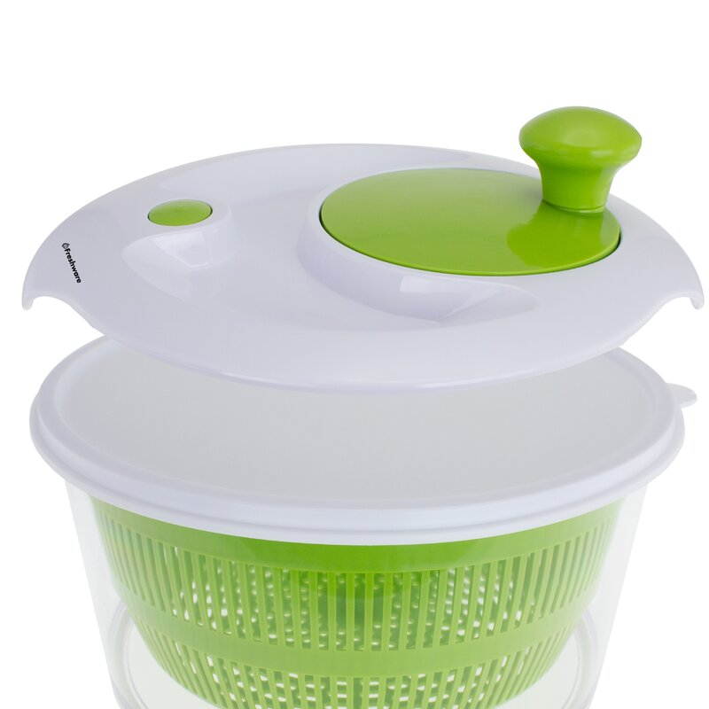Freshware Salad Spinner with Storage Lid Wayfair