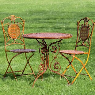 World Menagerie Rueben 3 Piece Bistro Set