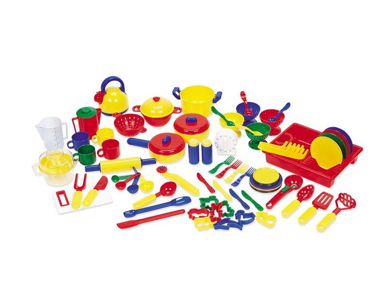 70 Piece Pretend And Play Kitchen Set