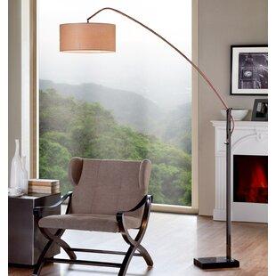 Best Reviews Doonan 78.5 Arched Floor Lamp By Corrigan Studio