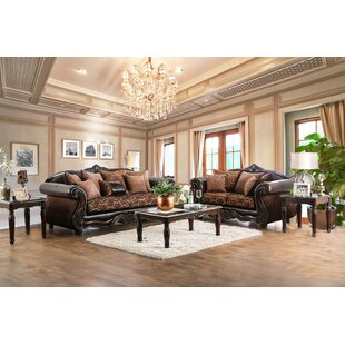 Selimi 2 Piece Living Room Set