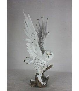 Hentz Snow Owl Figurine