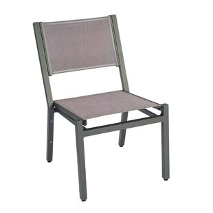 Woodard Palm Stacking Patio Dining Chair