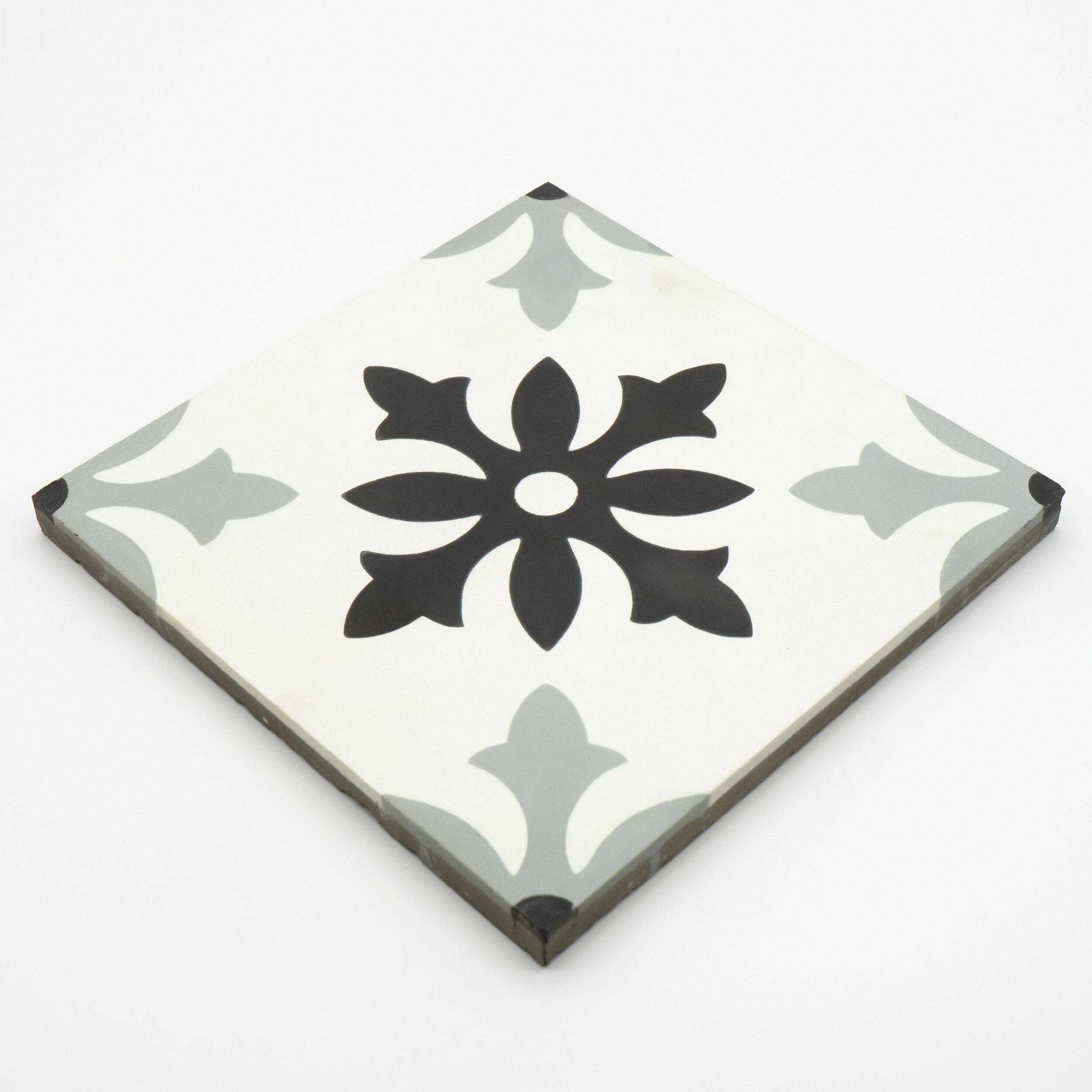 Moroccan Mosaic Tile House Azrou 8 X 8 Cement Field Tile Reviews Wayfair