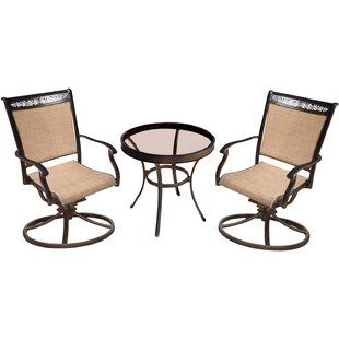 Bucher 3 Piece Bistro Set