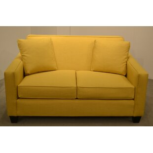 Two Cushion Loveseat by Carolina Classic ..