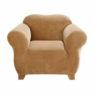 Royal Diamond Box Cushion Armchair Slipcover