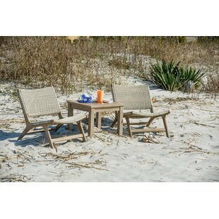 Timmerman Teak Patio Chair (Set of 2)