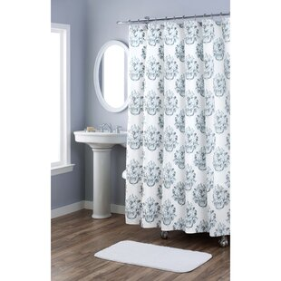 Searching for Damask Cotton Shower Curtain By Nicole Miller