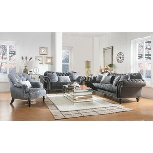 Price comparison Renteria Configurable Living Room Set by Everly Quinn Reviews (2019) & Buyer's Guide