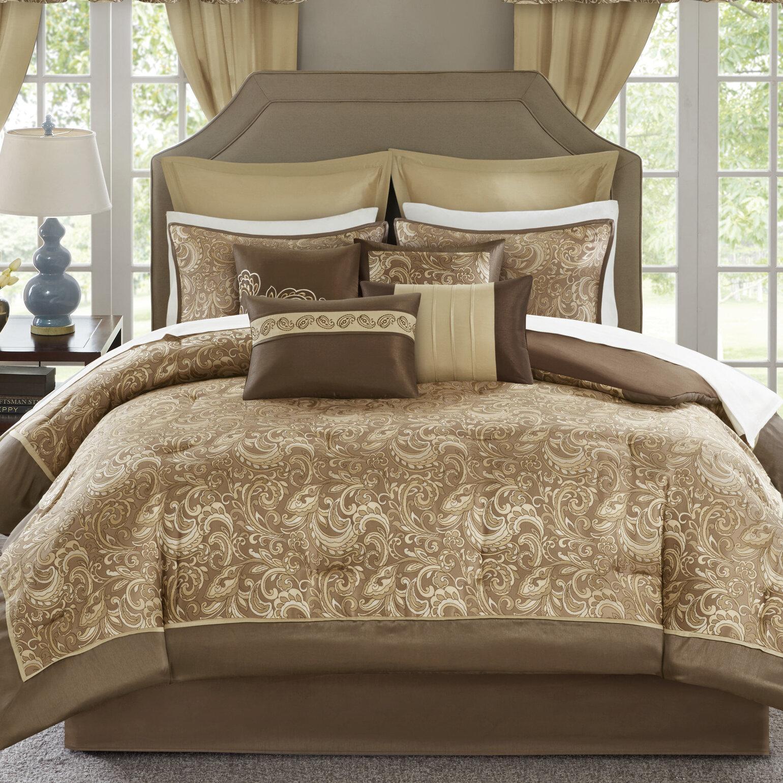 Astoria Grand Wightmans Paisley 24 Piece Comforter Bed In A Bag Reviews Wayfair
