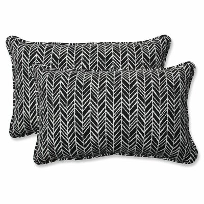 Herringbone Indoor/Outdoor Lumbar Pillow