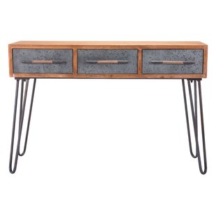 Williston Forge Lucina Metal Console Table