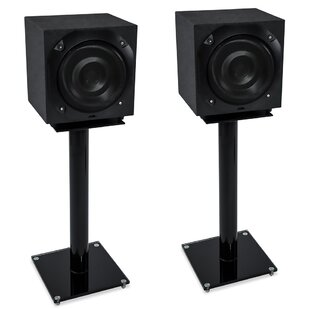 25 Fixed Height Speaker Stand Set of 2 by Symple Stuff