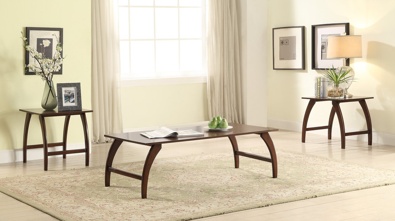 Wrought Studio Washington Mews 3 Piece Coffee Table Set & Reviews ...
