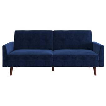 6329fe66b60 Symple Stuff Juarez Convertible Single Sleeper Futon Chair   Reviews ...