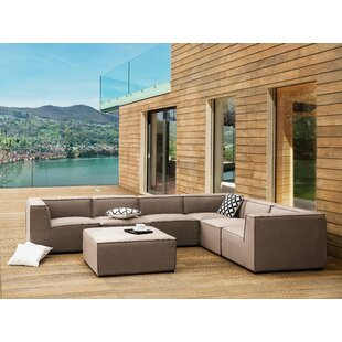 Reaves 7 Piece Sunbrella Sectional Seating Group by Orren Ellis