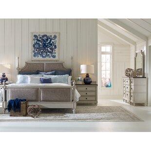Lark Manor Bruyere Upholstered Panel Bed