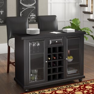 Cambridge Bar Cabinet with Wine Storage