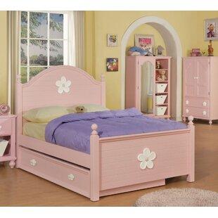 Harriet Bee Eslick Panel Bed with Trundle