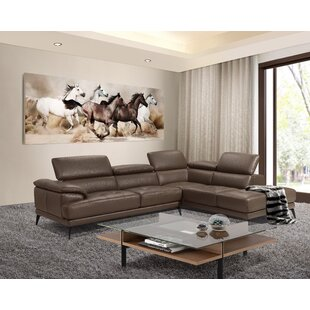 Stedman Leather Sectional