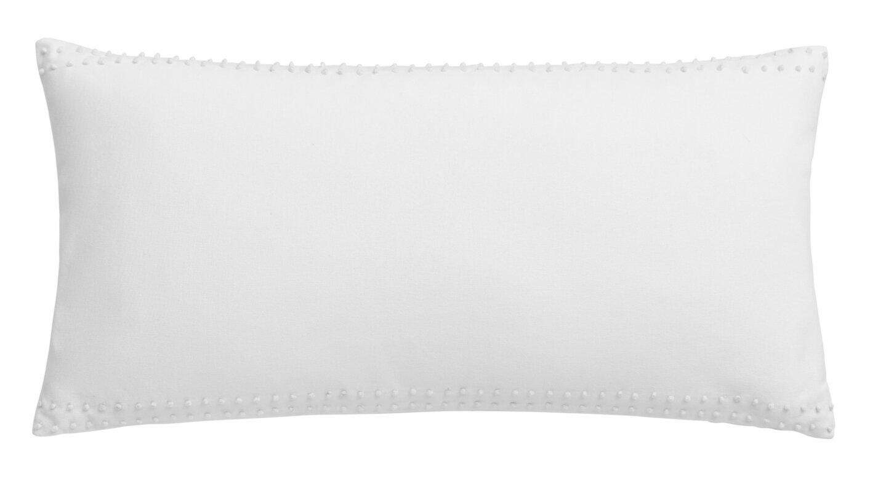 Jill Rosenwald Home Hexagon French Knot Cotton Breakfast Pillow ...