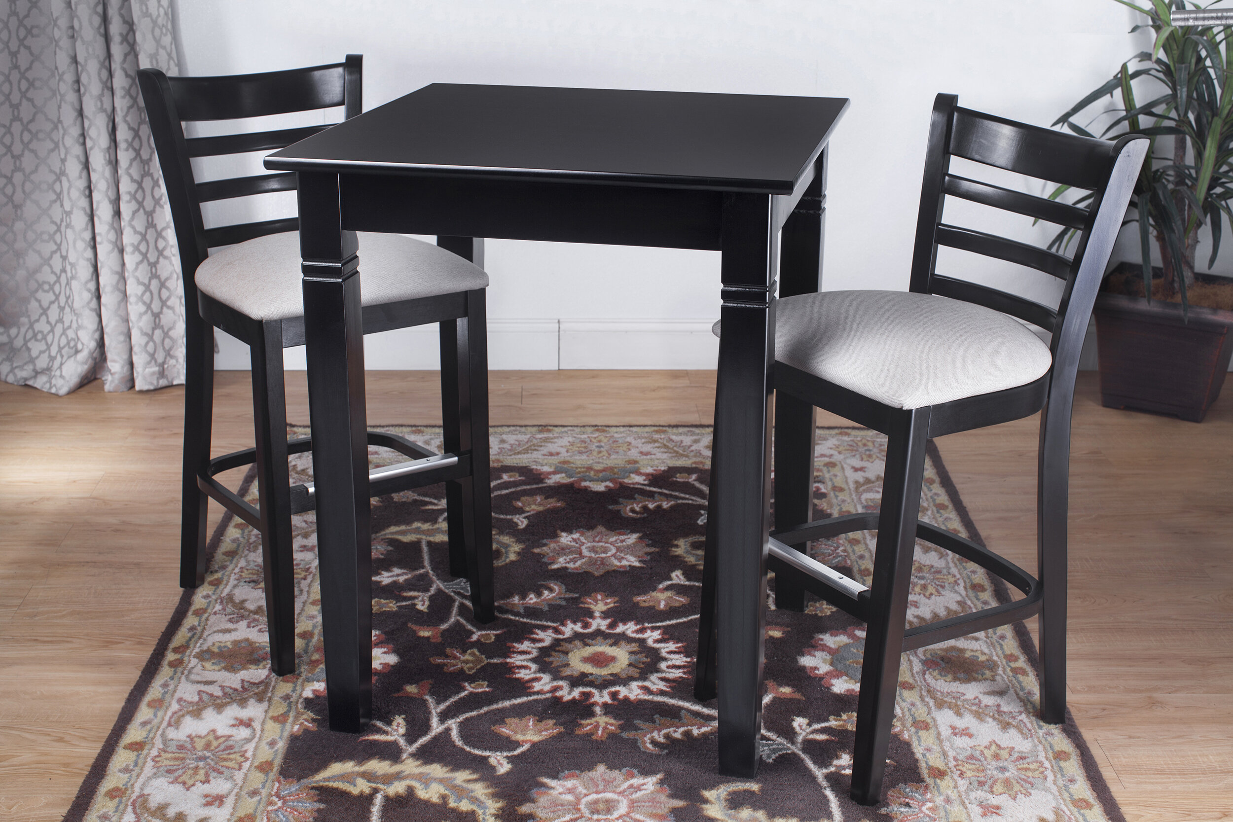 Winston Porter Littrell 3 Piece Pub Table Set Reviews Wayfair