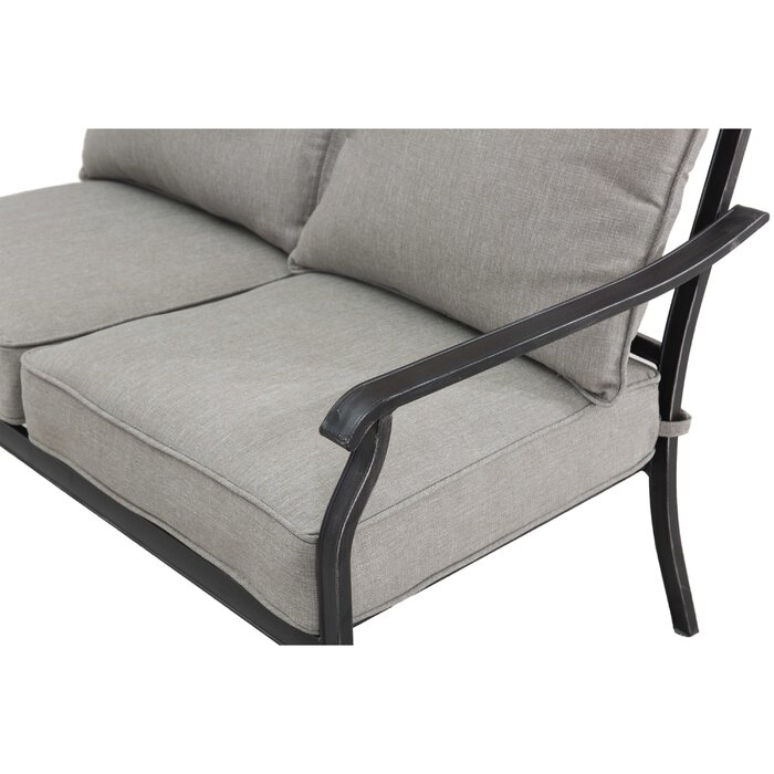 Sensational Beeson Loveseat With Cushions Ncnpc Chair Design For Home Ncnpcorg