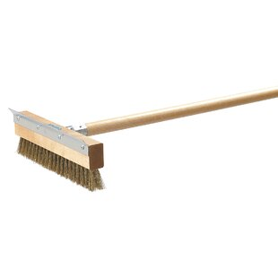 Pizza Oven Brush with Scraper (Set of 12)