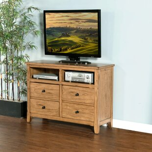 Fresno 4 Drawer Media Chest