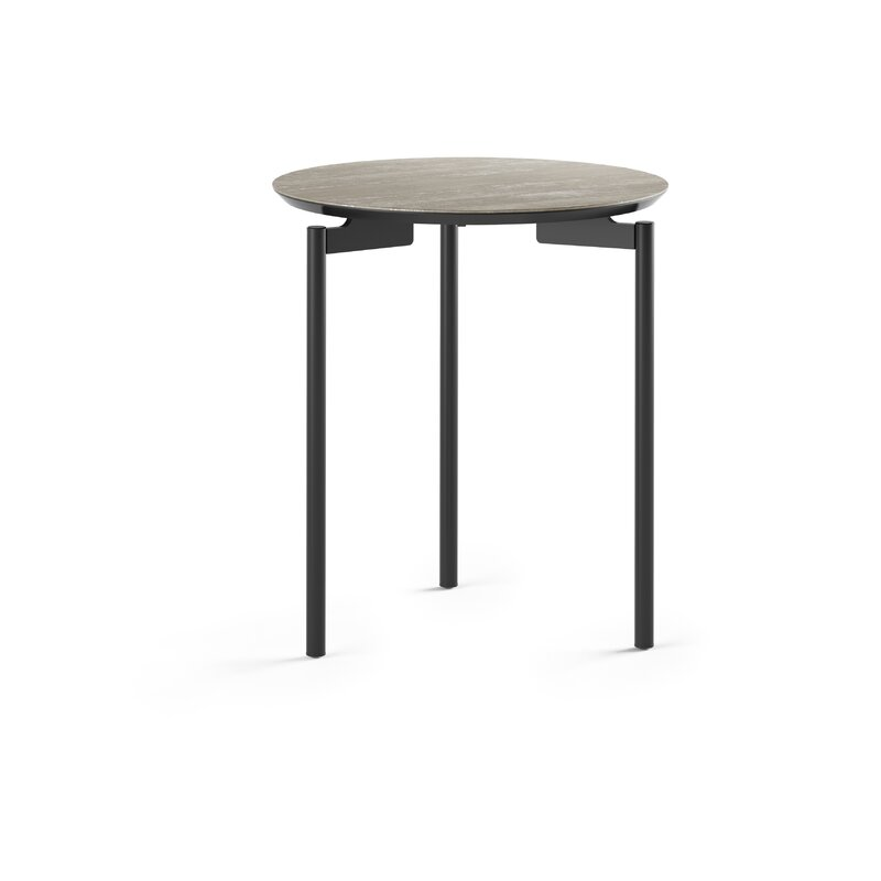 BDI Radius Round End Table