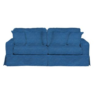 Oxalis T-Cushion Sofa Slipcover