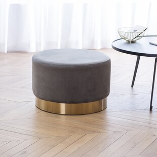 Amundson Upholstered Cocktail Ottoman by Everly Quinn