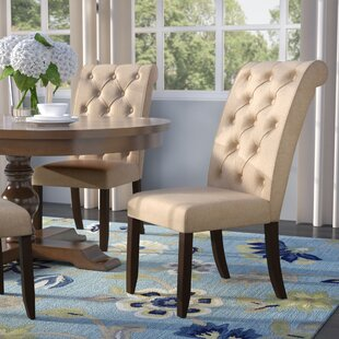 Lapeer Upholstered Dining Chair (Set Of 2) by Darby Home Co 2019 Coupon