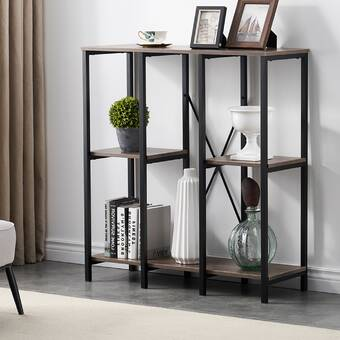 Williston Forge Hickory 2 Cube Storage Standard Bookcase Reviews Wayfair