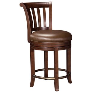 Braddock 24.5 Pub Bar Stool Canora Grey