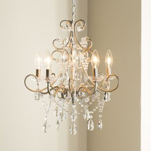 Astoria Grand Blanchette 5-Light Candle S..