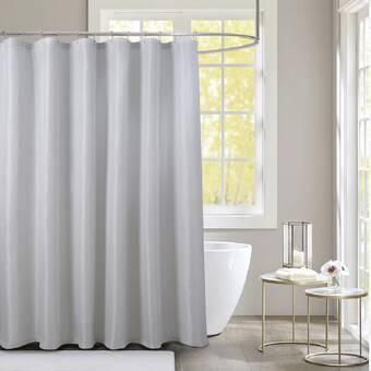 Ivy Bronx Croteau Single Shower Curtain Reviews Wayfair