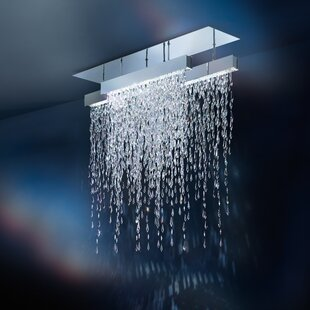 Swarovski 15-Light Close to Ceiling Semi Flush Mount