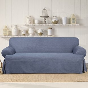 Authentic T-Cushion Sofa Slipcover