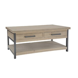 Bleeker Coffee Table With Storage By Williston Forge