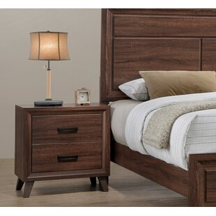 Lusk 2 Drawer Nightstand by Union Rustic