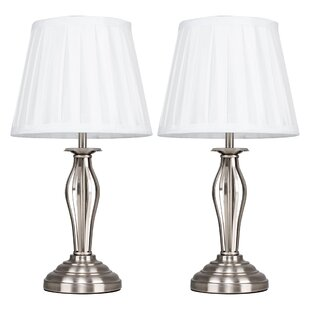 Table lamps youll love buy online wayfair 38cm table lamp set of 2 aloadofball Choice Image
