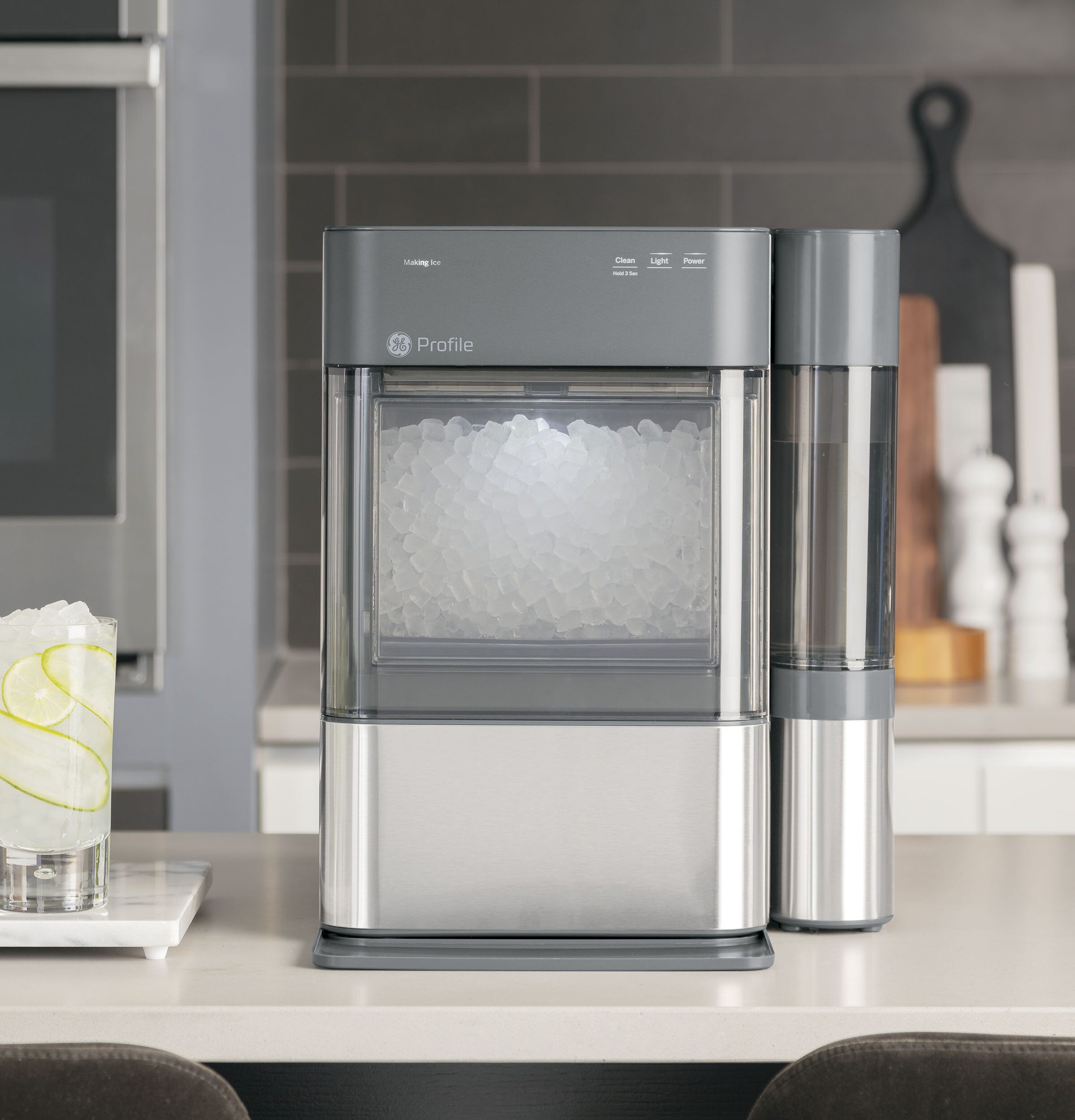 Ge Profile Opal 2 0 Nugget 24 Lb Daily Production Free Standing Ice Maker Reviews Wayfair