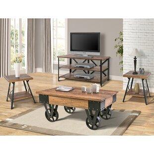 17 Stories Czerwinski 4 Piece Coffee Table Set
