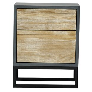 Read Reviews Bretz 2 Drawer Accent Cabinet By Union Rustic