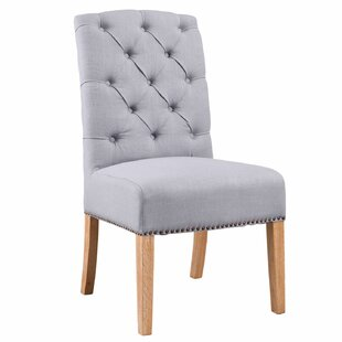 Klimas Upholstered Dining Chair by Darby Home Co