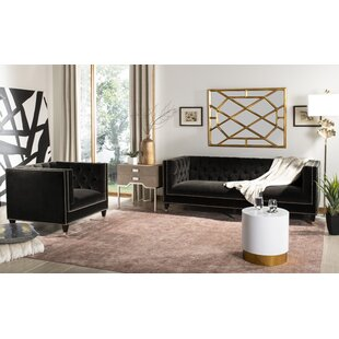 Folcroft Tufted Velvet Configurable Living Room Set by Everly Quinn