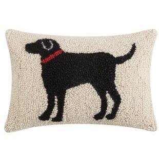 Hooked Wool Dog Pillows Wayfair