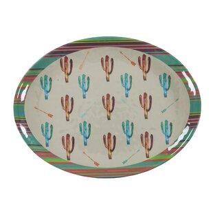 Cactus Serving Melamine Platter